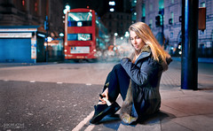 Vlada (socreative) Tags: life street portrait england urban night lights model mood smoke lifestyle style picadilly moment beaut vape londion vaping