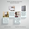 How to Repair Electric Water Heaters? (enajurkovic) Tags: 3d icons steps business info presentation information template infographic infograph gascentralheating gashotwatersystems gaslogfires electrichotwatersystems portablegasheaters