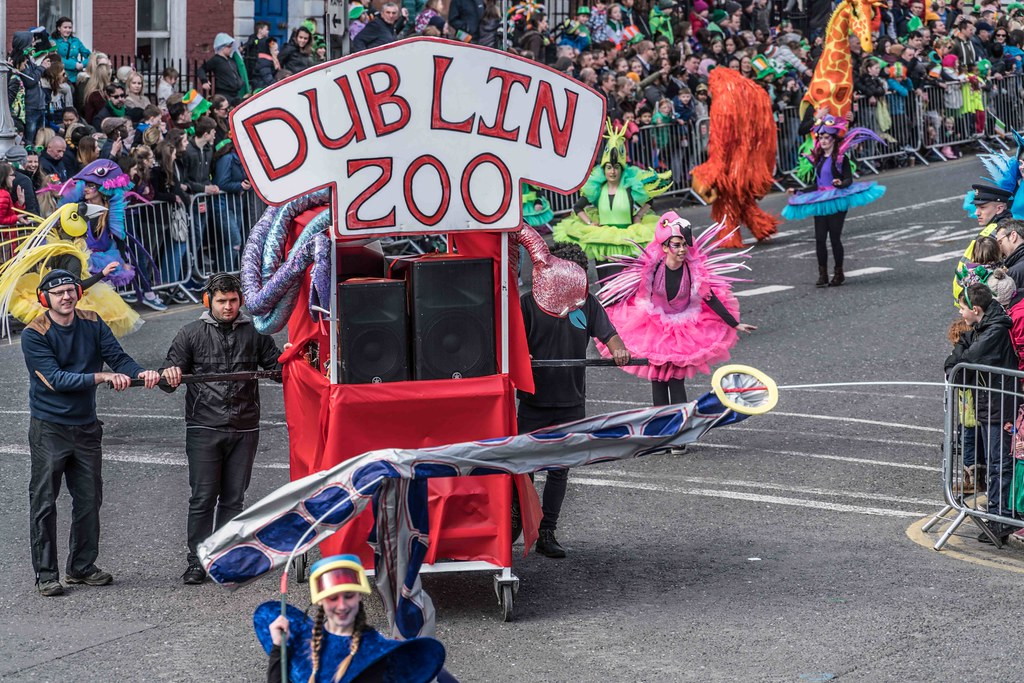 ARTISTIC AT THE ST. PATRICK'S DAY PARADE [MARCH 17 2016]--112471