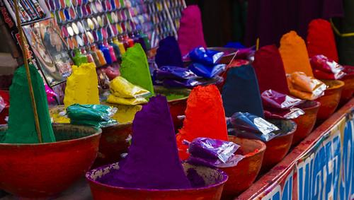 Farben in Pushkar
