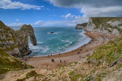 Durdle Door (sarah_presh) Tags: sea beach rock coast sand arch dorset april coastline hdr durdledoor nikond750