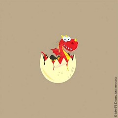 This li'l Welsh dragon is curious and ready for the world :) #egg #hatching #cute #welsh #dragon #teacher #clipart #scrapbooking #craft #projects https://goo.gl/o9JMhD (maypldigitalart) Tags: cute scrapbooking dragon egg craft teacher clipart welsh projects hatching