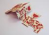 DSCF5041 (Elsita (Elsa Mora)) Tags: christmas paperart card redandwhite papercraft holidaycard papercutout elsita papercutting elsamora