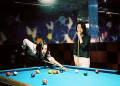 SML_160229_645_47-Edit ( Sean Marc Lee ) Tags: girls pool fashion pentax kodak style billiards saintpaul portra uniqlo carineroitfeld 645nii youmustcreate