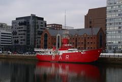 The Bar Lightship, Canning Dock, Liverpool (dickinsonjohn02) Tags: liverpool lightship canningdock barlightship ship bar water dock