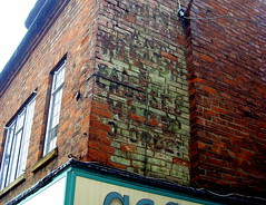 Ghost sign in Stratford upon Avon (Tony Worrall) Tags: county uk england building sign architecture corner buildings stream tour open unitedkingdom decay centre ghost country central shakespeare visit tourist area fade mid westmidlands warwickshire built attraction stratforduponavon midlands shakespearecountry