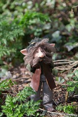 Tibald (Shirleys Studio | Handmade Art Dolls) Tags: shirleysstudio shirleys studio beeldende kunst art artist grotto troll ooak dolls trollen trolletjes boswezens fantasy doll artdoll trol trolls figurine handmade