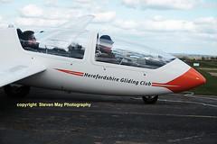 G-DEWG Grob G103A Twin II Acro (SPRedSteve) Tags: glider viking sailplane acro shobdon grob twiniiacro g103a vikingt1 gdewg ze501
