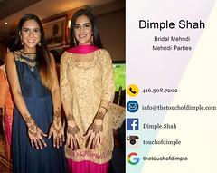 #mehndi #henna #mehendi #hennaartist #torontoweddings #hennadesign #airbrushmakeup #makeup #bridalmakeup #bridalhenna #bridalmehndi #bridalhair #arabicdesign #indiandesign #bridemaids #bridalparty #saree #sareedraping #mua #hinduwedding #sikhwedding #musl (Dimple Shah) Tags: wedding fashion tattoo makeup henna mehndi airbrush dimpleshah
