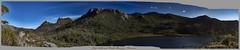 Lake Lilla and Cradle Mountain (Steven Penton) Tags: park mountain lake st stclair australia national tasmania clair cradle lilla