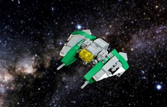 "The ""Verderensis"" (Brizzasbricks) Tags: lego spaceship npu microsacle"