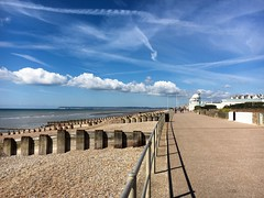 The perfect day ..... (abbietabbie) Tags: cold wind sunny promenade seafront eastsussex bexhillonsea