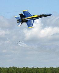 One and Three Coming (purduebob) Tags: blue angels