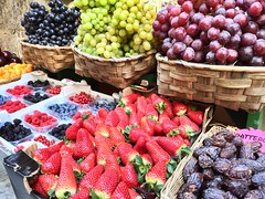 Colors! (Fistarol) Tags: color colors fruits fruit cherry strawberry blackberry plum strawberries grapes grape