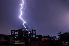 thunderstorm... (Jams Nabil) Tags: sky night photography shoot explore thunder
