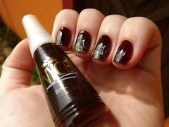 Desafio das sries #8 + 12 meses 12 esmaltes - abril. (Rassa S. (:) Tags: brown glitter dourado nails nailpolish unhas marrom risqu esmalte naillacquer nyce cremoso desafiodassries