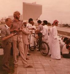 Dubai approx. 1981, near Sheraton Hotel (irishvillage) Tags: creek dubai olympus sheraton om2n