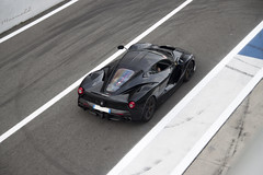 LaNera (Maxme22) Tags: roof italy black cars racetrack speed canon eos back italian track italia ferrari pit na exotic lane spotted launch carbon pista rare nero supercar challenge spotting exhaust autodromo pitlane monza v12 500d hypercar worldcars hypercars laferrari maxme22 powerslidelover