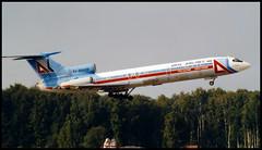 RA-85439 - Moscow Domodedovo (DME) 14.08.2001 (Jakob_DK) Tags: 2001 dme uudd domodedovo moscowdomodedovo domodedovointernationalairport tupolev tupolev154 tupolev154b tupolev154b2 tu154 tu154b tu154b2 careless svr uralairlines