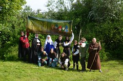 Robin Hood publicity march 2014