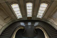Potsdam (michael_hamburg69) Tags: stairs germany deutschland cityhall treppe staircase townhall rathaus potsdam brandenburg stadthaus 1907 treppenhaus friedrichebertstr7981