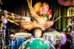 Quando ancora puoi sentirne il rumore (Pa!) Tags: show longexposure music man appaloosa industrial band concerto sound musica drummer batterista scie sudore