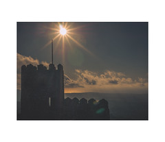 SINTRA (Tng Neva Sleep) Tags: from above city travel blue sunset sea sky mountain green castle portugal forest magazine photography lisbon gorgeous sintra dream photobook wanderlust clip clean dos fantasy da castelo magical capo breathtaking photodiary roca mouros