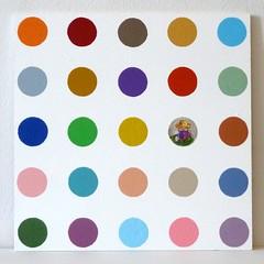 Damien Sektori 5 (neppanen) Tags: art painting acrylic damien sector maalaus hirst damienhirst taide afrikanthti sektori kuvataide discounterintelligence maalaustaide akryyli sampen samipennanen