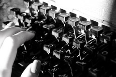 15:52 (phixated) Tags: portrait blackandwhite white black macro me typewriter self photography photo hands nikon hand nails manicure weeks 52 52weeks 52weeksproject 52weeksofphotography phixated 52weeks2016