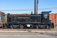 Delaware Lackawanna SC 426 (rmssch89) Tags: old 3 mountains diesel pennsylvania antique smoke iii class alco pocono shortline