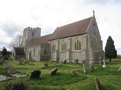 St Margaret's Church, Lewknor, Oxfordshire (John Steedman) Tags: uk greatbritain england church unitedkingdom oxfordshire stmargarets oxon grossbritannien  stmargaretschurch   grandebretagne lewknor