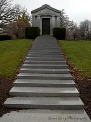 Woodlawn Cemetery (Gerri Gray Photography) Tags: newyork cemetery grave graveyard death memorial steps mausoleum gravestone mementomori syracuse tombstones crypt woodlawn gravemarker taphophilia