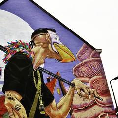 detail of The #Traveller, the new @asquidcalledsebastian #wall - #Gent #Belgium #streetart #graffiti #streetartbel #visitgent #streetart_daily #urbanart #urbanart_daily (Ferdinand 'Ferre' Feys) Tags: streetart graffiti belgium belgique belgi urbanart graff ghent gent gand graffitiart artdelarue urbanarte instagram asquidcalledsebastian ifttt