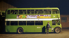 Nights in the yard (Fray Bentos) Tags: ecw busconductor 7004 nationalbuscompany bristolomnibusco bristollodekka bristolflf c7004 574hhy