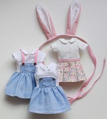 New collection (Aya_27) Tags: bunny dress style overalls blythe licca petitecreayations