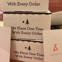 We planted 3 trees! Thank you... (jaswigstandup) Tags: businesscards startup sustainabilty jakprints givingback uploaded:by=flickstagram instagram:photo=9728251217771527541744266691 jaswig