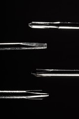 One of these things is not like the others (Nicolas -) Tags: light black france macro metal dark noir steel tools sombre micro precision flathead screwdrivers acier crosshead tournevis outil nicolasthomas oneofthesethings lumiere flatblade macromondays cruciforme
