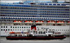 Caribbean Princess ( Departing Liverpool) 1st May 2016 (Cassini2008) Tags: portofliverpool caribbeanprincesscruiseship merseyferryroyaliris