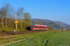648 254 - Langelsheim (tog-i-danmark) Tags: de deutschland eisenbahn db april alstom spiegelei niedersachsen 2016 badharzburg verkehrsmittel lint41 kreiensen dbregio langelsheim vorsignal formsignal rb14103 648254