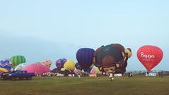 Lubao Hot air Balloon at Pradera Verde (1 of 29) (Rodel Flordeliz) Tags: travel sky hot air balloon billboard adventure oxygen riding hotairballoons pradera pampanga bataan lubao lubaohotair