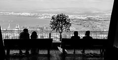 double date (GogyJen.L) Tags: city sea bw israel double date haifa