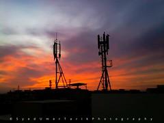 Catching the spectacular sunsets in spring. (Umer Tarik) Tags: travel pakistan sunset silhouette photography shot explore moment capture karachi discover traveler photogrid mykarachi travelbeautifulpakistan