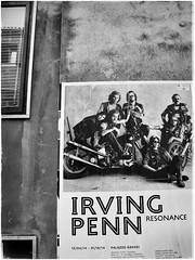 Venice-Penn (plismo) Tags: venice bw italy window monochrome poster alley outdoor text penn veneto irvingpenn sanpolo plismo