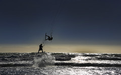 We walk&we fly (sgrunbauer) Tags: people waves afternoon windsurfers