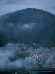 PhoTones Works #7465 (TAKUMA KIMURA) Tags: new sea sun mountain nature japan clouds train sunrise landscape scenery outdoor year olympus       omd okayama kimura  em1      takuma    photones