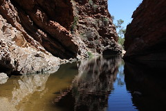 Simpsons Gap, West MacDonnell Ranges (cathm2) Tags: travel water walking landscape scenery stream nt walk australia outback northernterritory simpsonsgap alicesprings redcentre westmacdonnell
