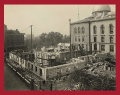 Construction of the east wing, ca. 1914 (State Library of Massachusetts) Tags: wings additions eastwing westwing massachusettsstatehouse rclipstonsturgis williamchapman robertdandrews sturgischapmanandrews
