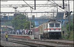 12314   -    (Abhishek Jog) Tags: from new bridge delhi hard through towards charging anand furious csb vihar shivaji rajdhani tilak sealdah accelerating 12314 ghaziabad gzb 30402 tkj ndls sdah wap7 anvr ndlssdah