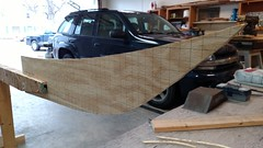 019 - Bow form (alliomd) Tags: kayak forms petrel woodboat woodkayak strongback
