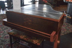 this piano is played by a ghost (the__photographer) Tags: ships piano queenmary paranormal oceanliner hauntedships